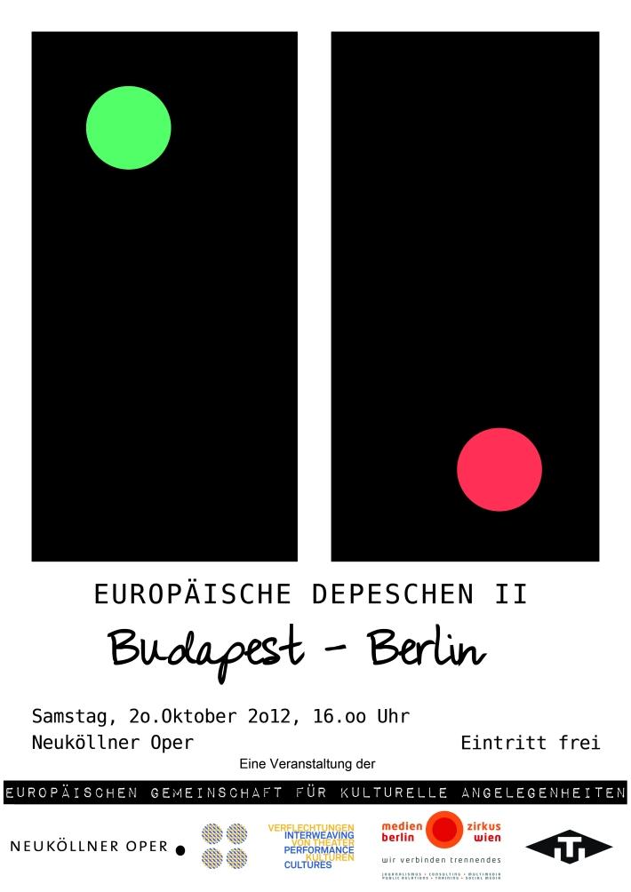 EUROPÄISCHE DEPESCHEN II: Budapest - Berlin